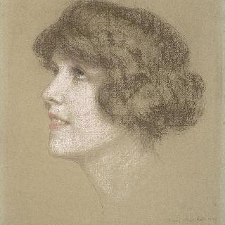 마드무아젤 아를레트 와랭의 초상