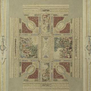 로마, 교황 쥘 2세의 빌라 (로마의 쥴리어스풍의 천장)