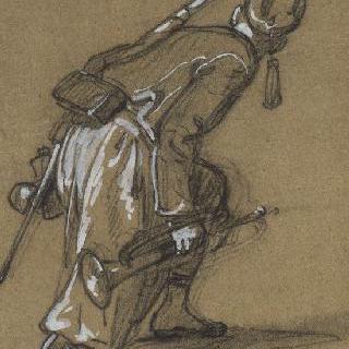 알제리 보병대의 나팔수들