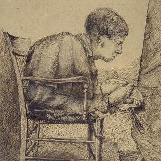 화가 뒤코르네의 초상 (1806-1856)