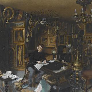 포부르그 푸아소니에르 거리 56번지 자신의 아파트의 샤를 소바조