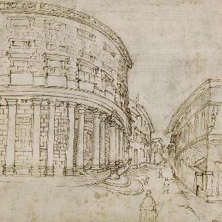 마시모 알레 콜론 왕궁의 전경