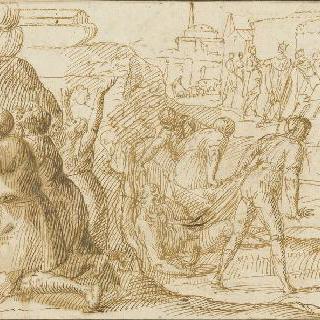 홍수가 지난 뒤 노아의 역사 이야기와 바벨탑 이야기