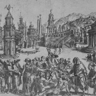 사티로스의 우의화 : 속죄하는 헤르메스