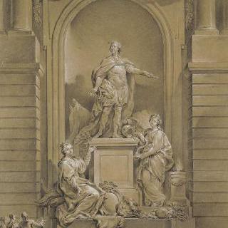 루이 15세의 동상
