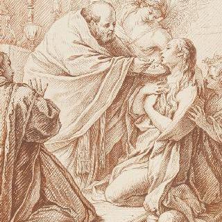 성녀 막달라 마리아의 영성체