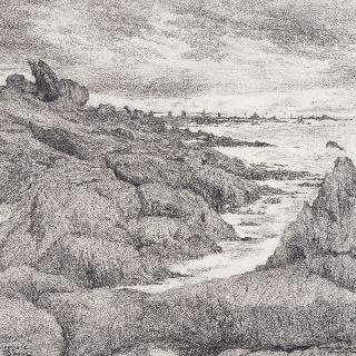 생게놀레, 모래더미로 된 둑