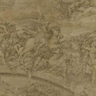 수비시우스 다리를 지키는 호라티우스 코클레스
