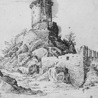 로마의 비아 아피아 위의 스키피온의 무덤