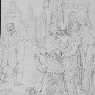 오귀스트와 티부르의 무녀