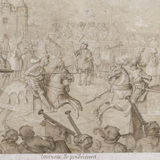 상드리쿠르의 시합, 1493년 9월 18일 대결