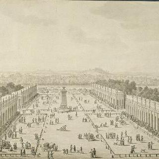 앵발리드 기념관 광장의 산업 전시회 (1806년)