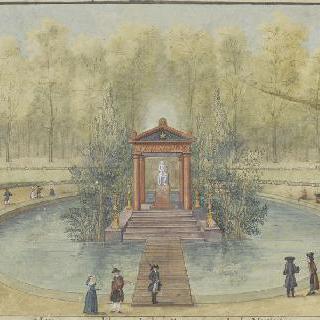 튈르리 궁의 장 자크 루소의 무덤