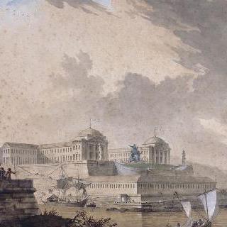 브레스트의 루이 16세 광장 계획안
