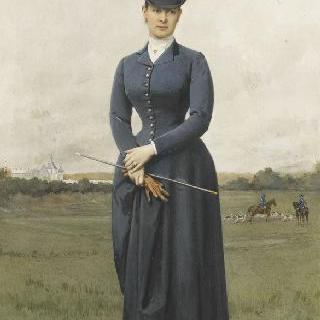 러시아 마리아 파블로브나 대공작부인의 초상