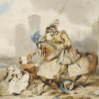 앙베르의 역사 장면