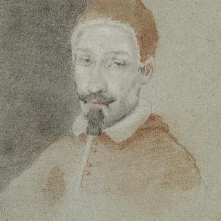 추기경 복장의 남자 초상 : 교황 알렉산드르 7세
