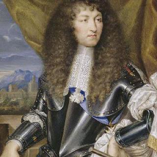 1663년 갑옷을 입은 루이 14세