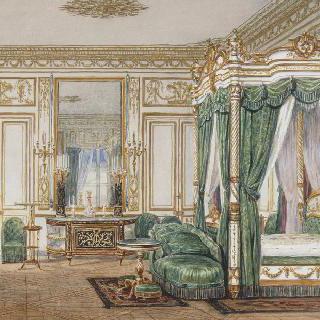 생 클루의 외제니 황후의 침실