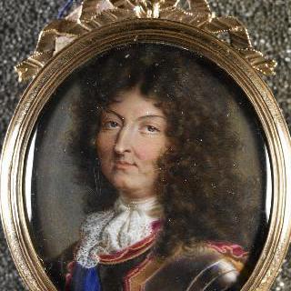 젊은 시절의 루이 14세의 초상