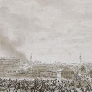 1806년 10월 14일 프랑스 군대의 베이마르 도시 공격