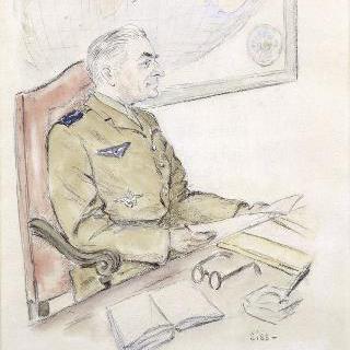 나바르 군대의 장군의 초상