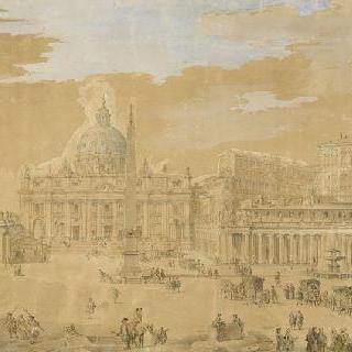 로마 바티칸의 생피에르 성당