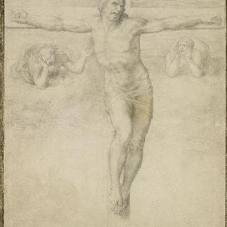 십자가의 그리스도와 두 천사
