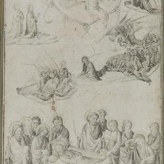 성모의 장례식과 성모를 맞이하는 천국