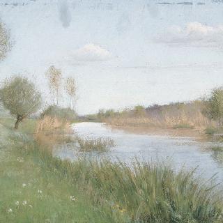 봄의 루앙 강변
