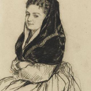 만틸라를 쓴 여인의 초상