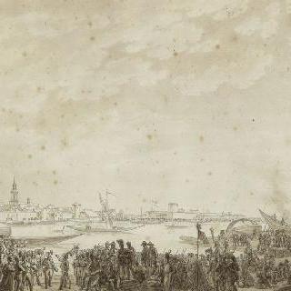 1806년 10월 25일 스판단 요새의 명도와 도시의 항복