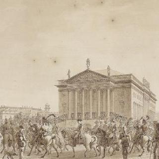 1806년 10월 27일 나폴레옹 1세의 베를린 입성