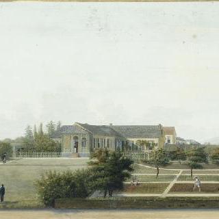 1820년 1월 1일 상인이 나폴레옹 1세에게 선사한 롱우드의 전경