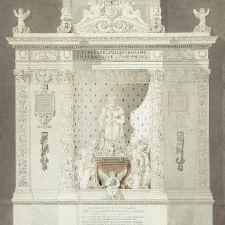뢰일 성당의 조제핀 황후 무덤 계획안 (1763-1814)