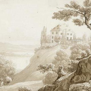 아르넨베르그의 성의 전경