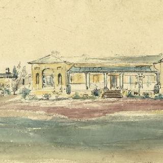 올드 롱우드 하우스와 뉴 하우스의 전경