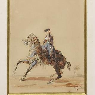 마드무아젤 외제니 몽티조의 초상