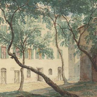 아작시오의 보나파르트 집 정경