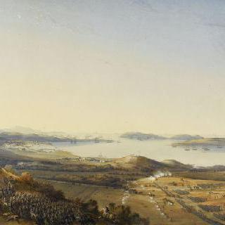 1794년 11월 30일 아침, 보나파르트의 툴롱 점령의 전경
