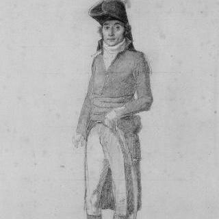 조셉 라그랑즈 장군의 초상, 1798년 이집트 원정 당시 여단장