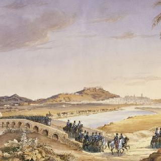 콘스탄틴을 향해 본시를 떠나는 느무르 여단, 1837년 9월 27일