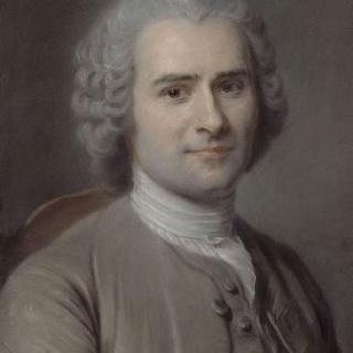장 자크 루소의 초상 (1712-1778), 철학자