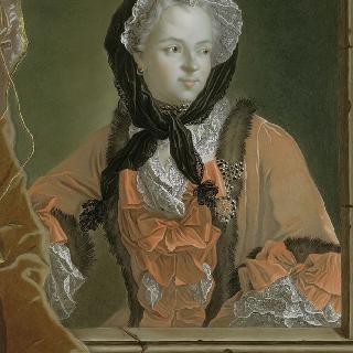 마리 레친스카 왕비의 흉상 초상 (1677-1768)