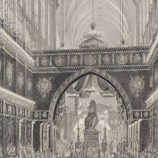 루이 15세와 마리 앙투아네트의 장례식