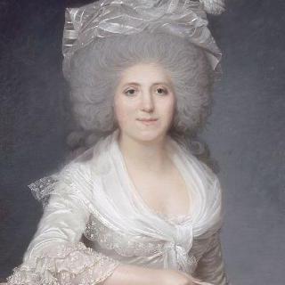 잔 루이즈 앙리에트 주네의 초상, 캉판의 부인 (1752-1822)