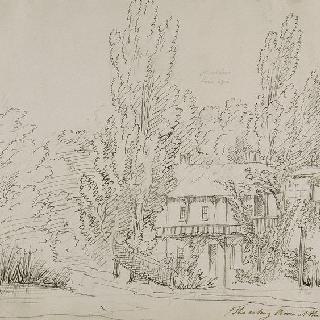 프티 트리아농의 작은 마을의 왕비의 가옥