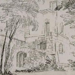 프티 트리아농의 작은 마을의 방아