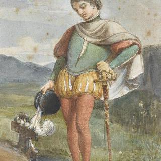 플뢰레트 무덤의 앙리 드 부르봉
