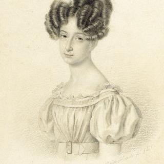 14세의 마리 도를레앙 공주